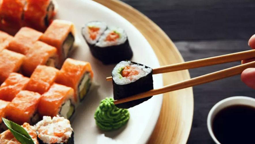 Todo lo que puedas comer de sushi en Sakura | Noviembre 2018