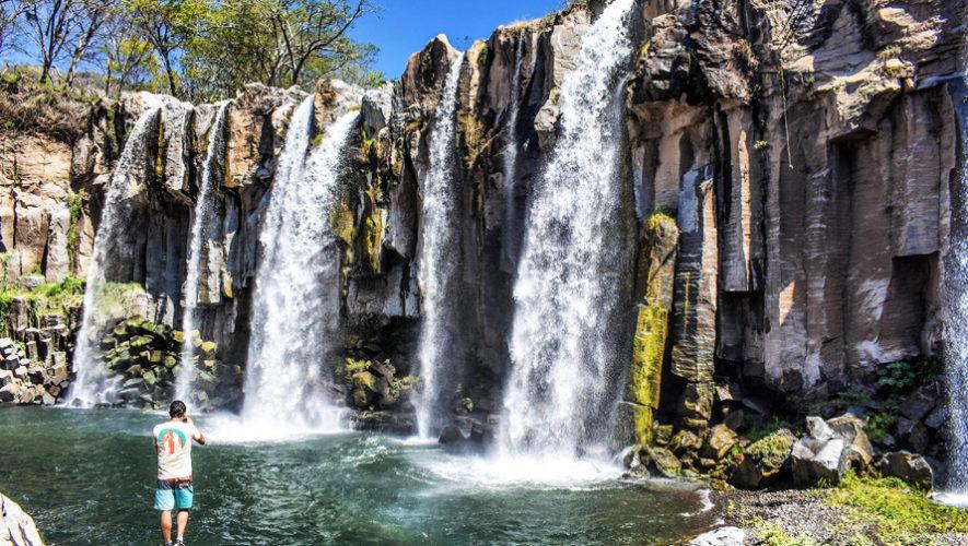 Viaje a las Cataratas Los Amates en Santa Rosa | Enero 2019
