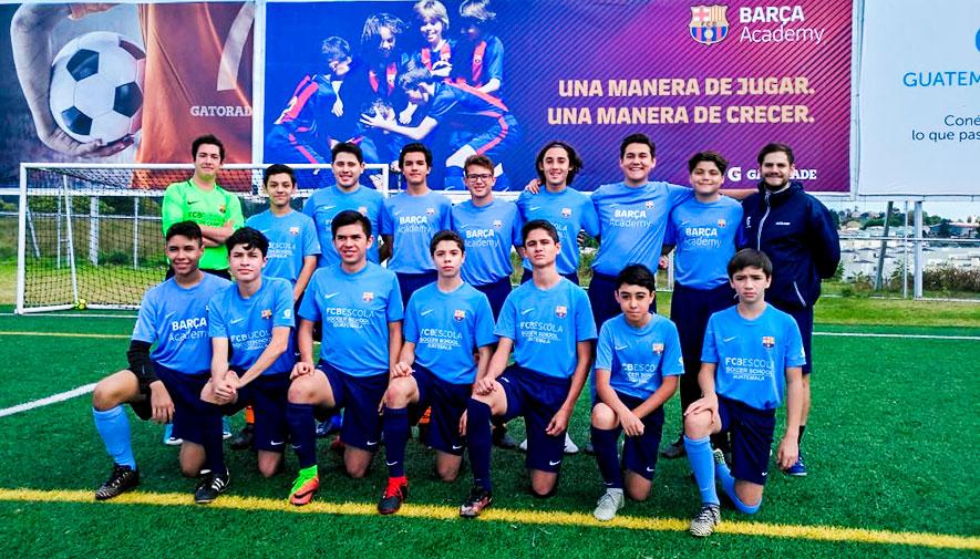 Barça Academy de Guatemala formará parte del III Torneo de las Américas 2018