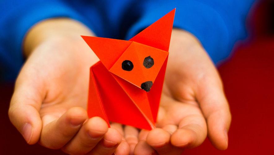 Taller de origami en Nueva Acrópolis zona 11 | Noviembre 2018