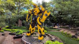 El único Parque de Robots que puedes visitar en la Ciudad de Guatemala