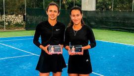 Andrea Weedon y Melissa Morales, subcampeonas del Topspin Energie Cup 2018