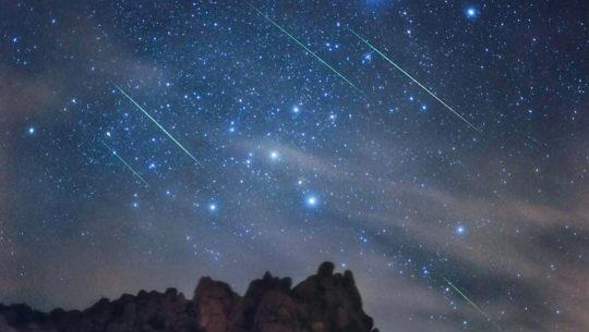Calendario de lluvias de estrellas del 2019 en Guatemala