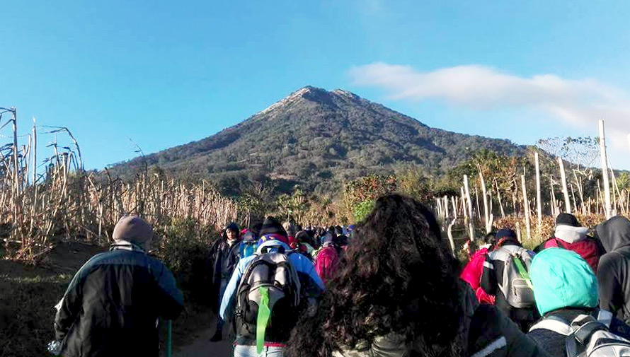 (Foto: A Pie Al Volcán de Agua)