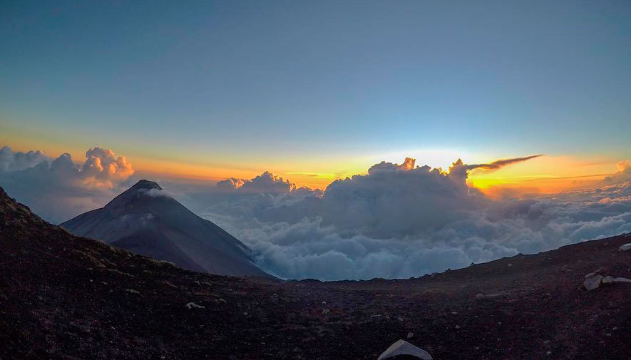 Campamento en el Volcán Acatenango | Diciembre 2018