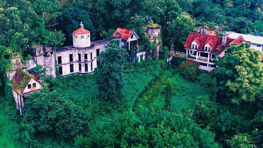 Castillo abandonado en Malacatán