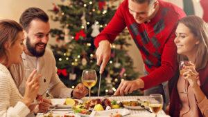 Cena navideña con todo lo que puedas comer en Earth Lodge   Diciembre 2018