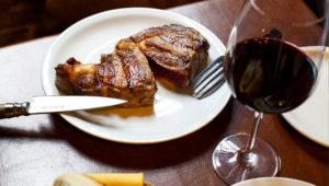 Cena y maridaje con carne asada y vinos | Diciembre 2018