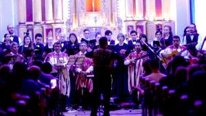 Concierto navideño de Capella Cantorum con música sinfónica   Diciembre 2018