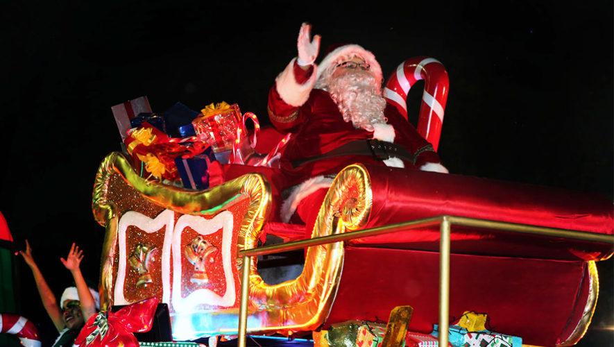 Desfile navideño en Mixco | Diciembre 2018