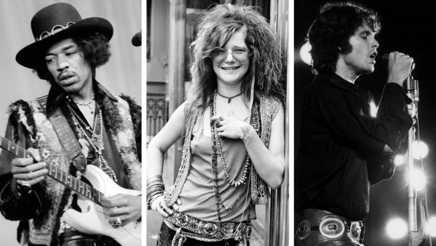 Noche tributo a Jimi Hendrix, Janis Joplin y Jim Morrison   Diciembre 2018