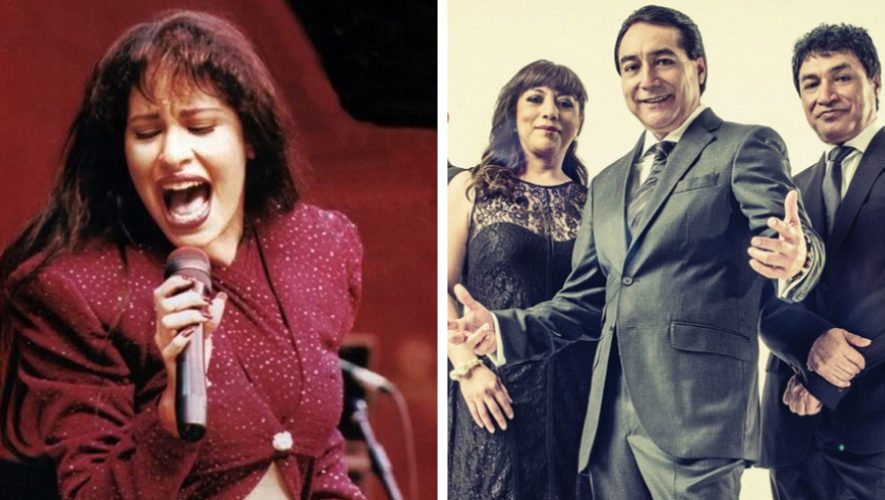 Noche tributo a la música de Selena y Ángeles Azules   Diciembre 2018