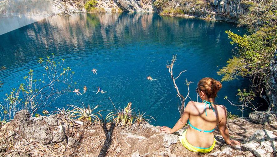 Expedición a los Cenotes de Candelaria y El Cimarrón   Enero 2019