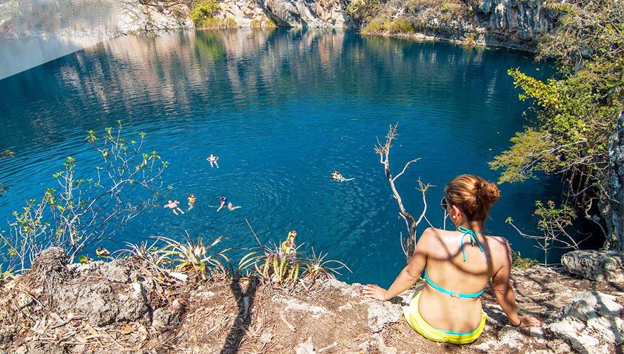 Expedición a los Cenotes de Candelaria y El Cimarrón