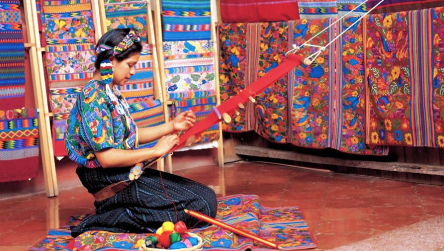 Feria de artesanías textiles de Guatemala | Diciembre 2018