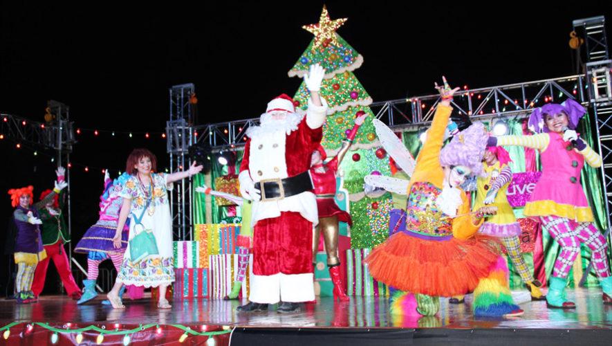 Festival navideño en San Lucas Sacatepéquez | Diciembre 2018