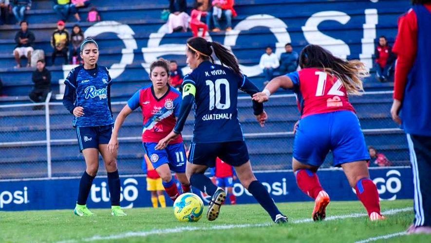 Final de ida Unifut vs. Xela por el Torneo Apertura Femenino | Apertura 2018