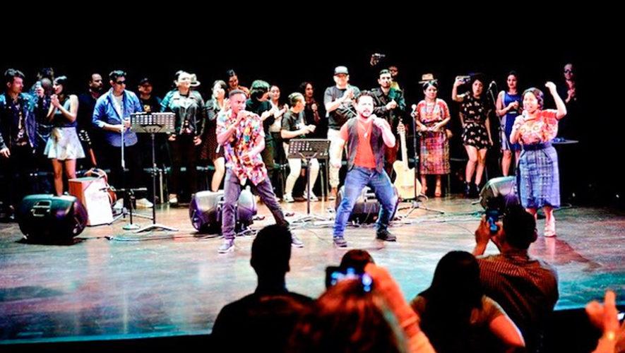Ganadores de un Latin Grammy impartieron clases de música en Guatemala, 2018