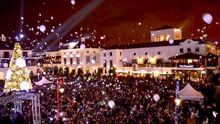 Gran fiesta gratuita de fin de año en Ciudad Cayalá | Diciembre 2018
