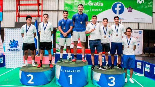 Guatemala arrasó con las medallas de El Salvador International Open 2018