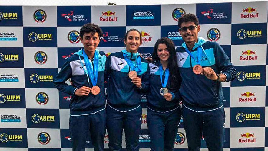 Guatemala sobresalió con 5 medallas en el Panamericano 2018 en Perú