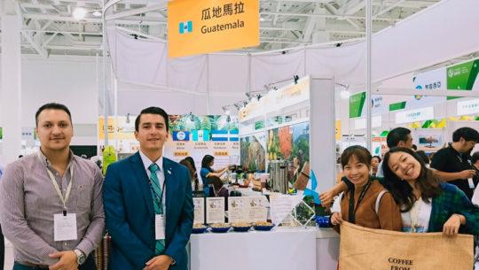 Guatemaltecos participaron en la Feria internacional de Agricultura de Taiwán 2018