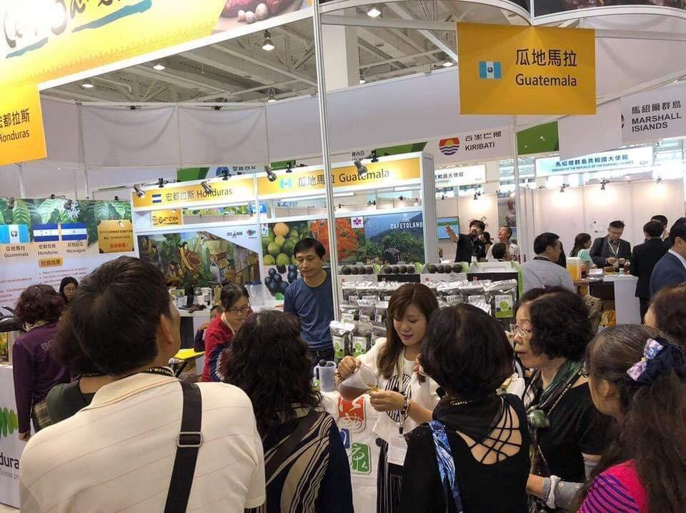 Guatemaltecos participaron en la Feria internacional de Agricultura de Taiwán