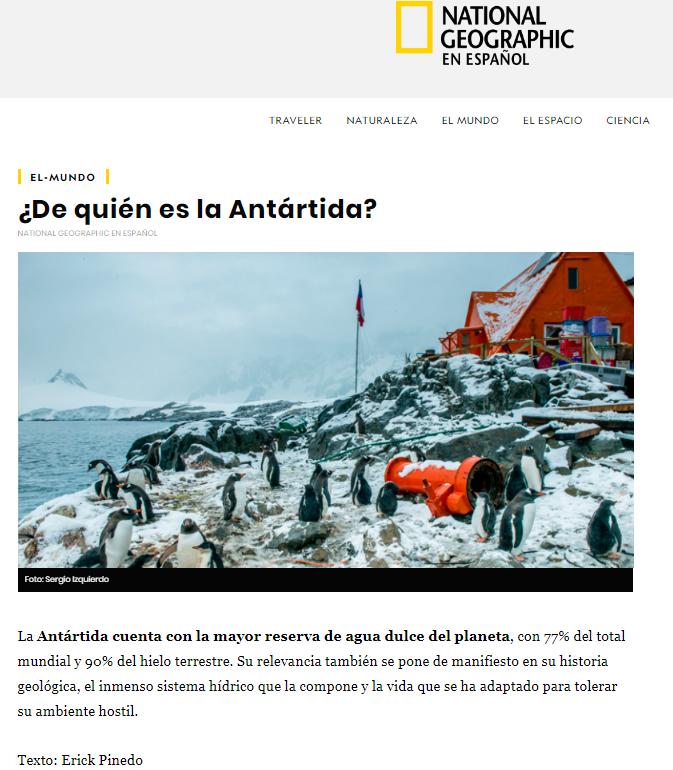 Historia de Sergio Izquierdo fue premiada por National Geographic en Español