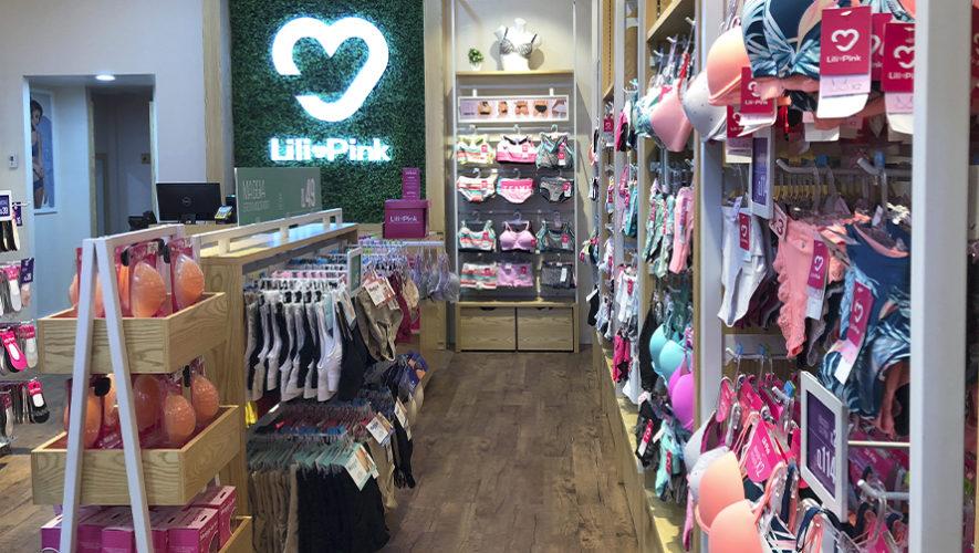 9d536372a Lili Pink abrió nuevas tiendas de ropa interior femenina en Guatemala