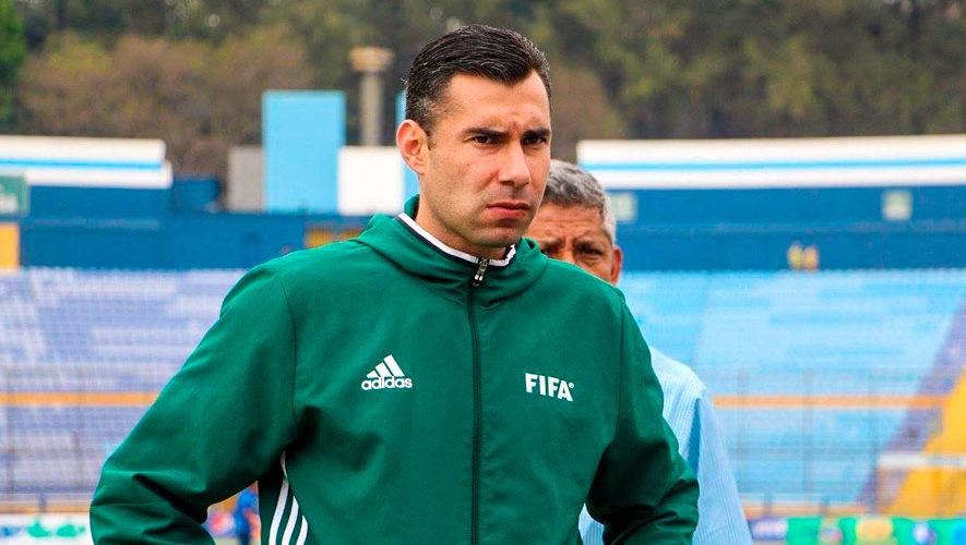 Mario Escobar es nominado a mejor árbitro del 2018 de la Concacaf