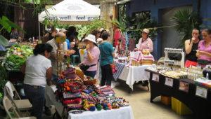 Mercadito orgánico de fin de año en Antigua Guatemala   Diciembre 2018