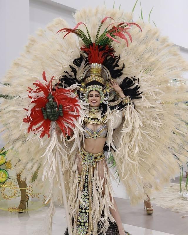 Miss Universo 2018 presentación de Miss Guatemala en traje tradicional