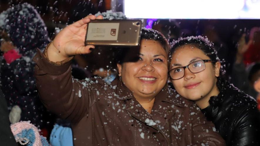 Noches nevadas en Mixco | Diciembre 2018