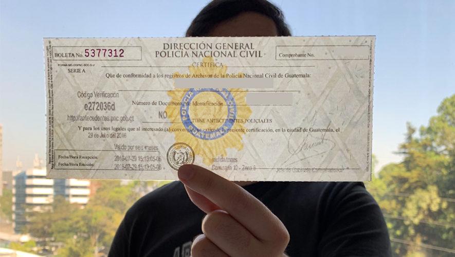 Nueva sede central de Antecedentes Policíacos en la Ciudad de Guatemala, 2018
