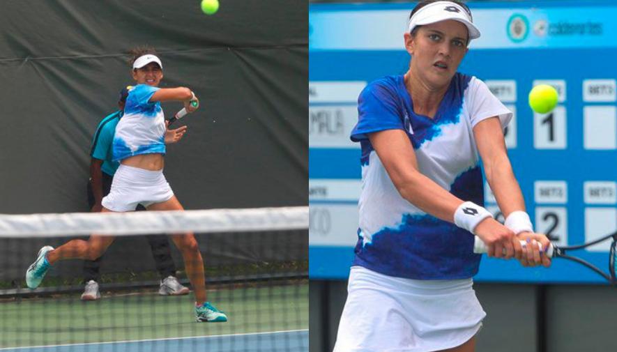 Partido benéfico de tenis Andrea Weedon vs. Gabriela Rivera