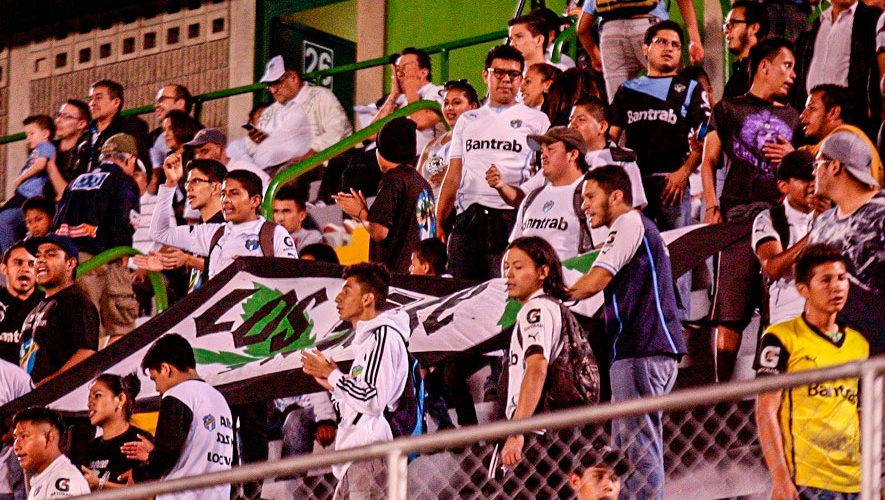 Partido de ida Comunicaciones y Guastatoya, final del Torneo Apertura | Diciembre 2018