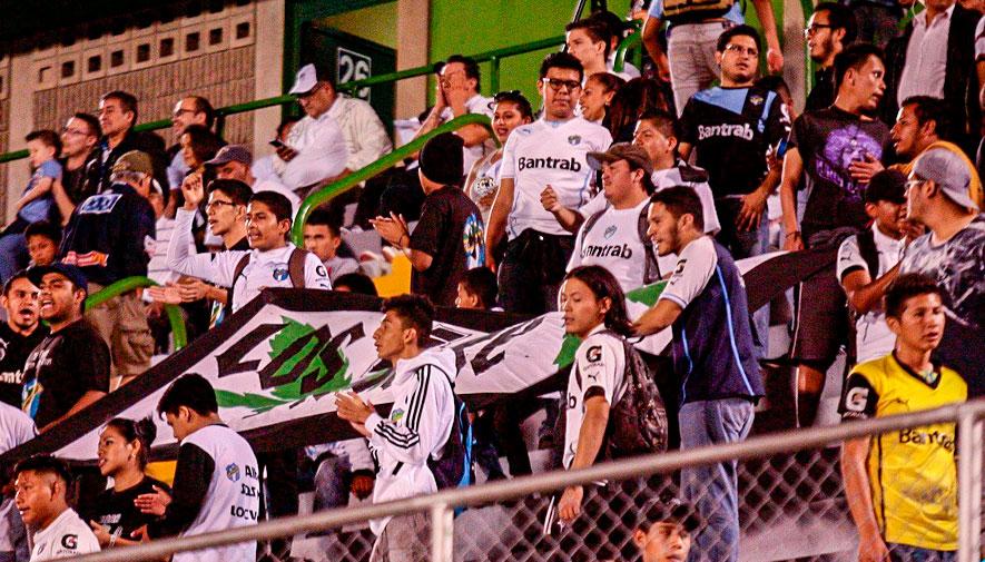 Partido de ida Comunicaciones y Guastatoya, final del Torneo Apertura