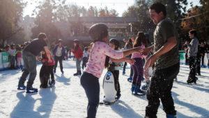 Pista de hielo Ice Magic en Majadas Once | Diciembre 2018