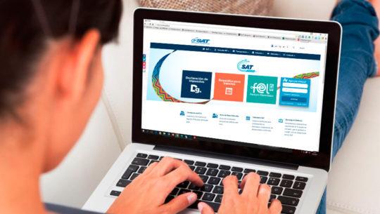 Procedimiento para la Declaración Valor Cero de la SAT en línea