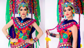 Stephanie Ogaldez es una de las ganadoras del Best National Costume, Miss Supranational 2018
