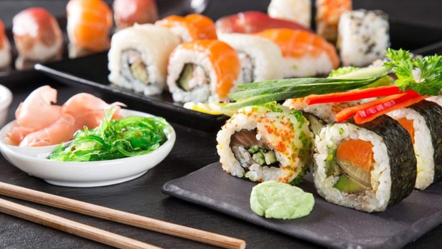 Todo lo que puedas comer de platillos japoneses en Zona 10 | Diciembre 2018