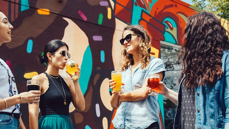 All you can drink solo para mujeres en zona 10 | Diciembre 2018