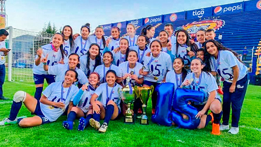 Unifut sumó su décimo quinto título en el Torneo Apertura 2018