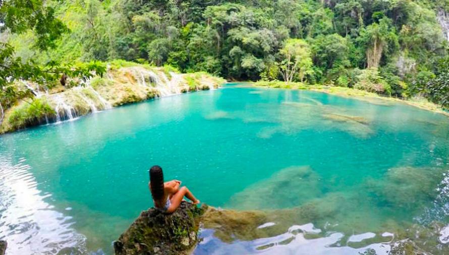 Viaje para realizar camping en Semuc Champey de Viajeros GT