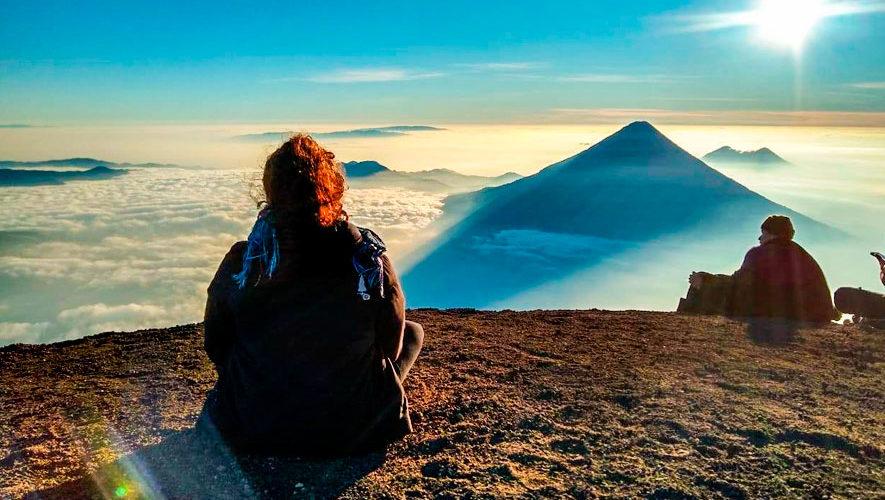 Viaje para escalar el volcán Acatenango | Diciembre 2018