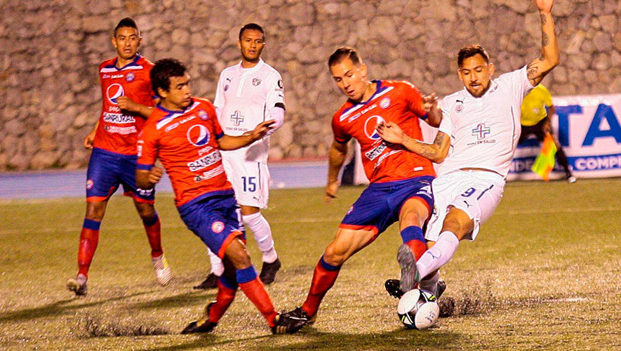 Partido de ida Comunicaciones y Xelajú, semifinales del Torneo Apertura | Diciembre 2018
