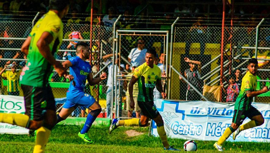Partido de vuelta Guastatoya y Cobán, semifinales del Torneo Apertura | Diciembre 2018