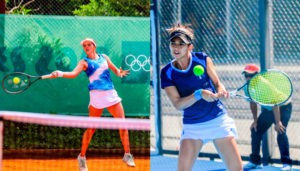 Partido benéfico de tenis Andrea Weedon vs. Gabriela Rivera   Diciembre 2018
