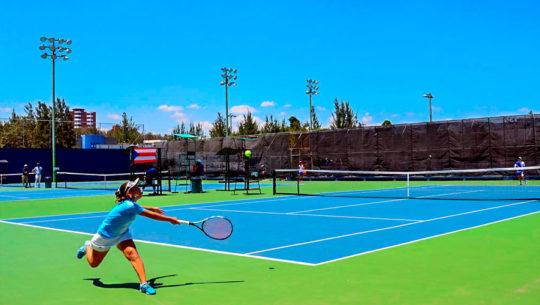 Canchas donde puedes aprender tenis en la Ciudad de Guatemala