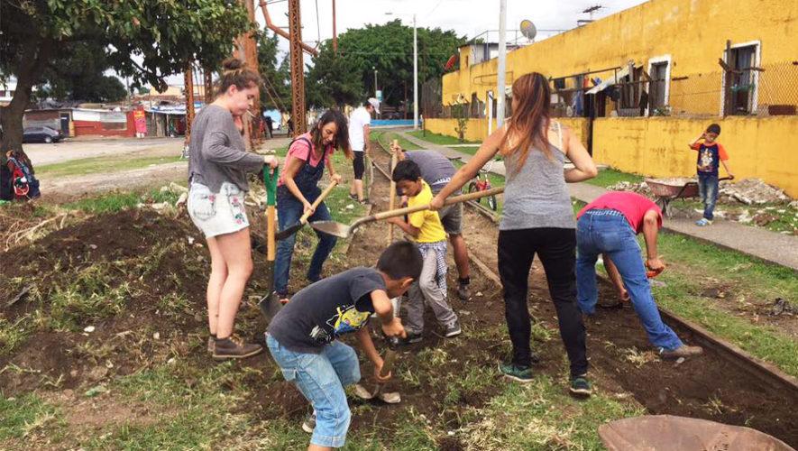 Buscan voluntarios para decorar y mejorar un edificio del Barrio Gerona